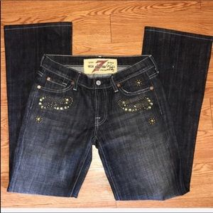 7 For All Mankind Black Boot Cut EUC no flaws